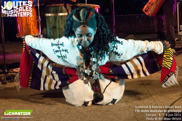 Selamnesh et Badume s Azmari Band aux 17e Joutes musicales - festival des musiques du monde - fréquentation record pour les 17e joutes musicales