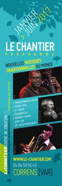 Programme Le Chantier Janv>Juin 2017